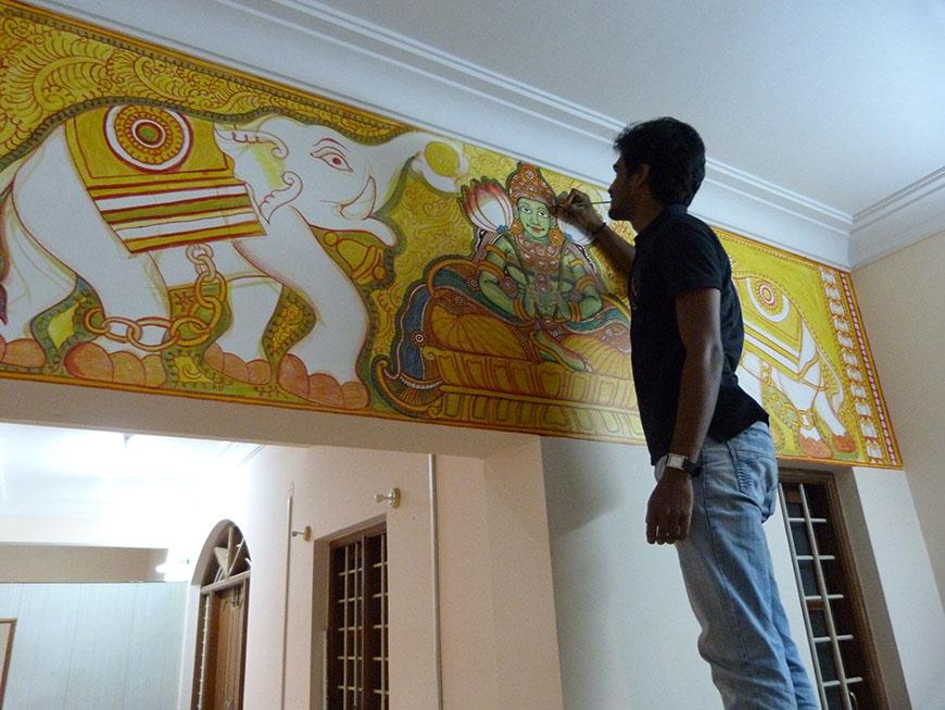 Wall Mural Kerala Mural Painting