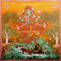 GAJENDRA-MOKSHAM-KERALA-MURAL-PAINTING