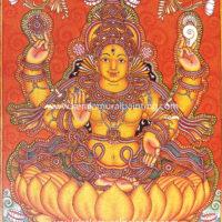 LAKSHMI-KERALA-MURAL-PAINTING