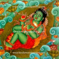 KRISHNA-KERALA-MURAL-PAINTING