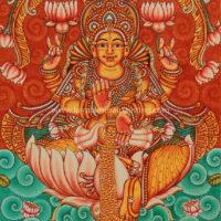 lakshmi kerala mural
