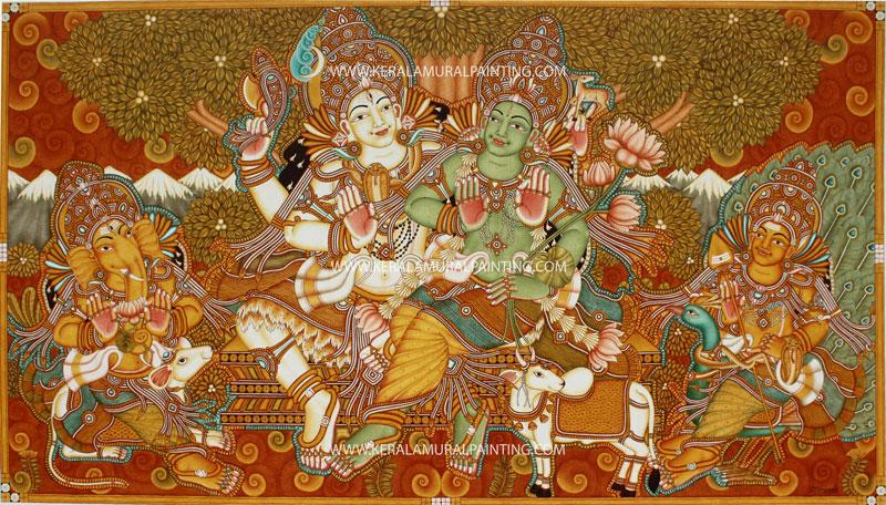 Kerala Mural Paintings - Kerala Mural Painting
